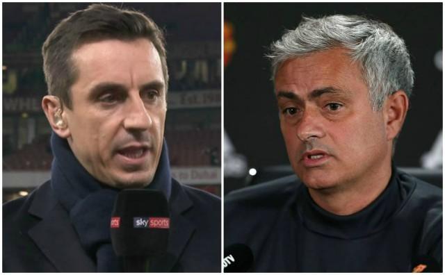 Gary Neville doesn't hold Mourinho responsible for United's transfer failings
