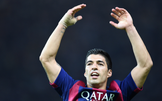 (Video) Luis Suarez bags his 100th Barcelona goal in just his 120th appearance with a characteristically stunning finish