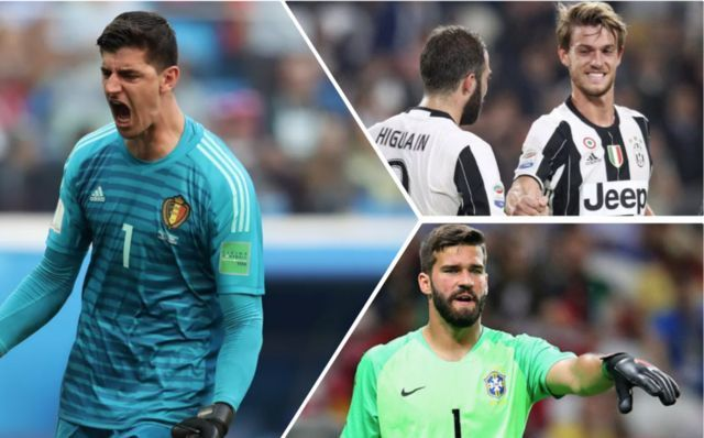 Five transfers that could be announced imminently: Alisson to Liverpool and Courtois to Real Madrid star on list of deals that could be done soon