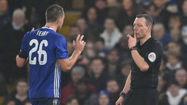 FA rejects Terry red card appeal