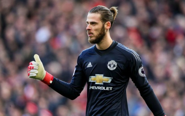 'Hands off' - Manchester United fans panic over David de Gea after Real Madrid fall behind to Bayern Munich | CaughtOffside