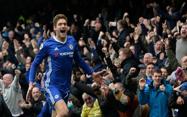 (Video) Chelsea and Spain star scores fabulous long-range goal to put Blues ahead against rivals Spurs