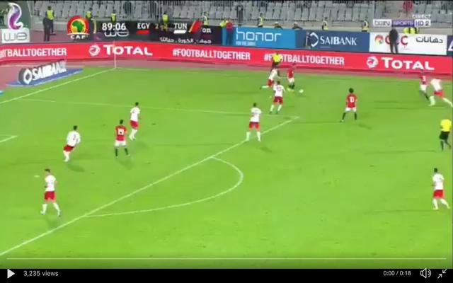 Video: Liverpool's Salah scores last-minute winner for Egypt