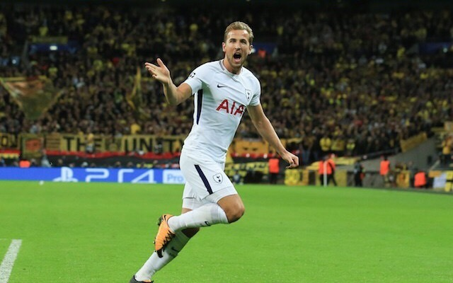 Tottenham forward Harry Kane
