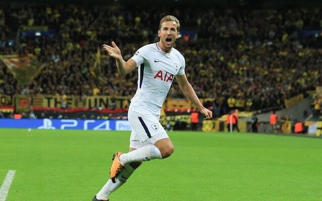 Tottenham forward Harry Kane