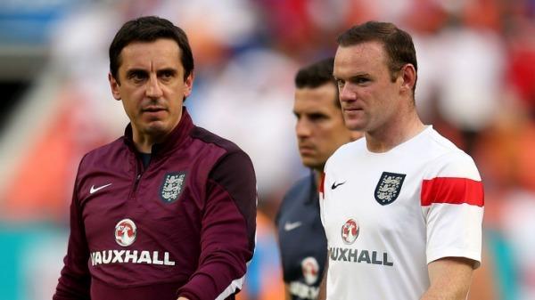 Football: Gary Neville slams the FA for 'shocking' handling over Wayne Rooney incident