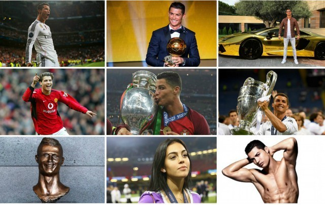 Cristiano Ronaldo in pictures: The goals, the trophies, the women as Real Madrid hero celebrates 33rd birthday