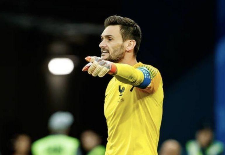 Tottenham goalkeeper Hugo Lloris on France duty
