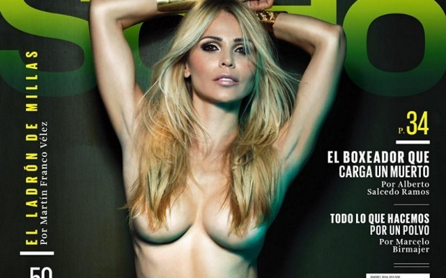 Yolanda Cardona: Victor Valdes WAG topless