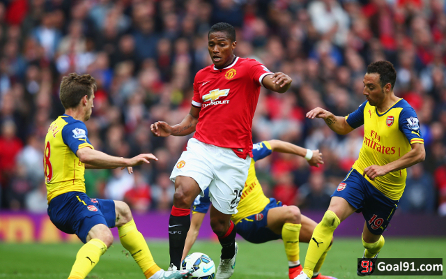 (Photo) Man United star raises spirits following Arsenal draw