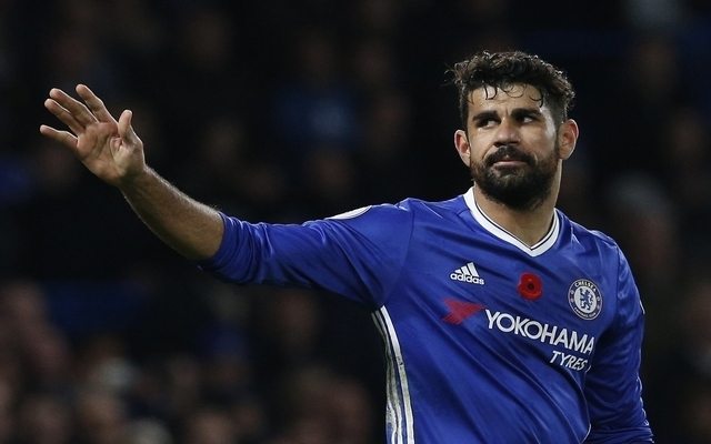 Diego Costa earns special praise from former Chelsea team-mate
