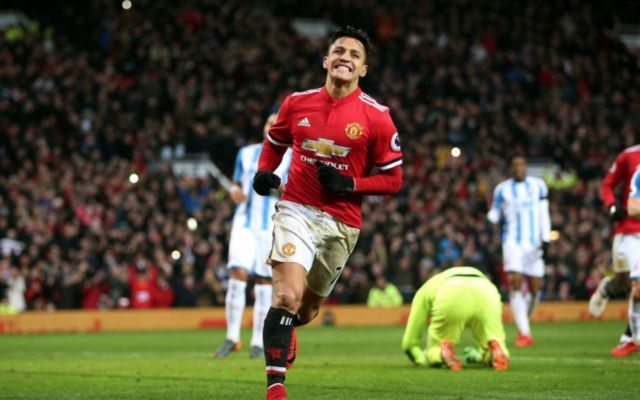 Man United's Alexis Sanchez