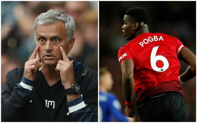 Man Utd respond to reports of row between Jose Mourinho and Paul Pogba