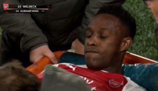 Danny Welbeck breaks silence over horror injury during Arsenal vs Sporting Lisbon | Goal91