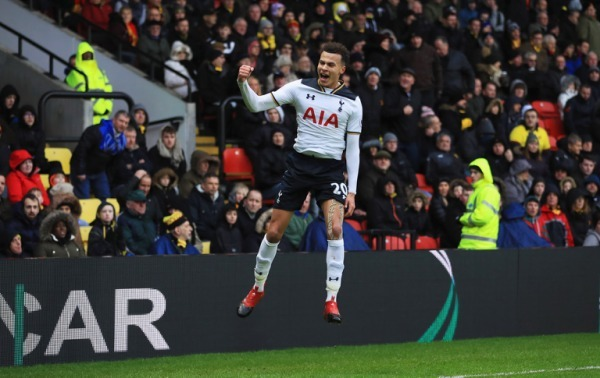 Premier League: Kane and Alli double up as Tottenham crush Watford