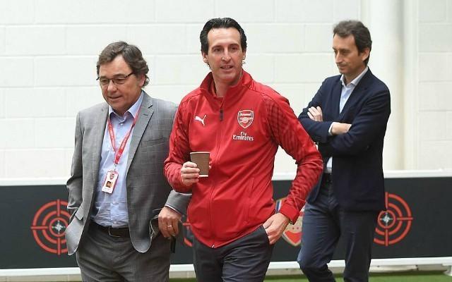 Arsenal chief drops major hint over potential forward transfer   Goal91