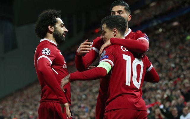 Liverpool vs Spartak