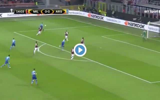 Video: Mkhitaryan scores outstanding first Arsenal goal against AC Milan, superb assist from Ozil