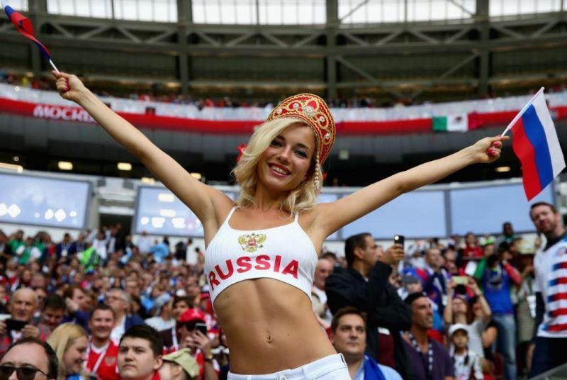 hot russian fan