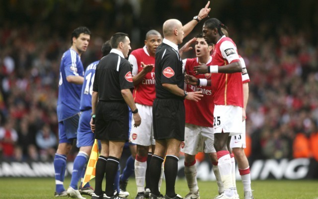 arsenal chelsea fight