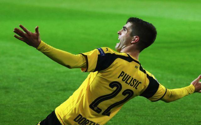 Dortmund winger Christian Pulisic