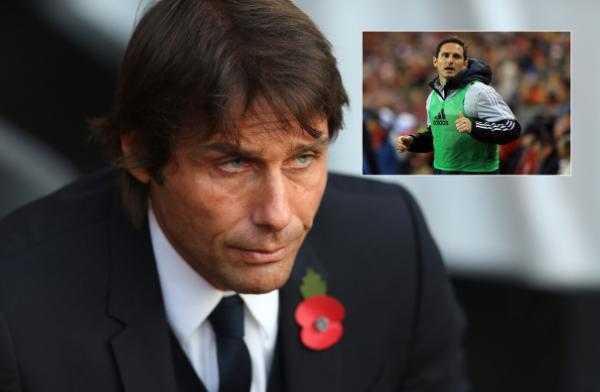 Premier League: Antonio Conte won't consider Frank Lampard for Chelsea coaching role until he retires