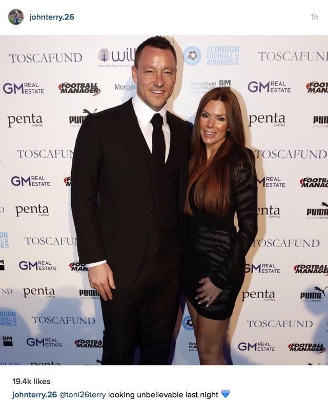 John Terry wife Toni