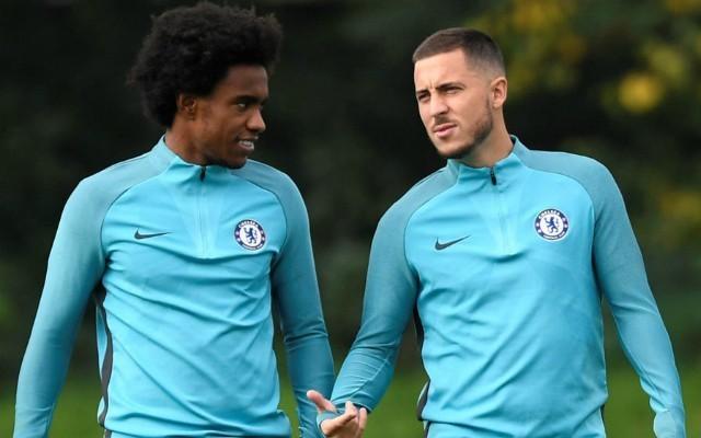 Willian Barcelona: Third transfer bid of £55m made to Chelsea