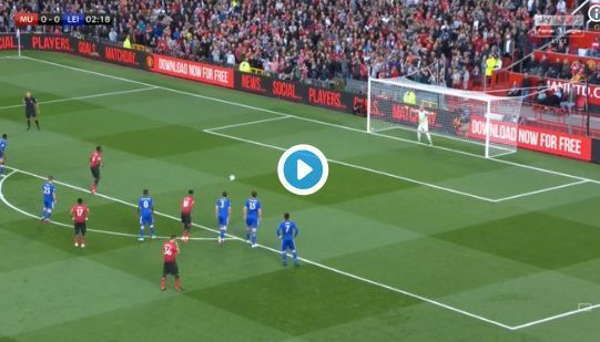 Video: Paul Pogba scores CHEEKY penalty for Manchester United vs Leicester
