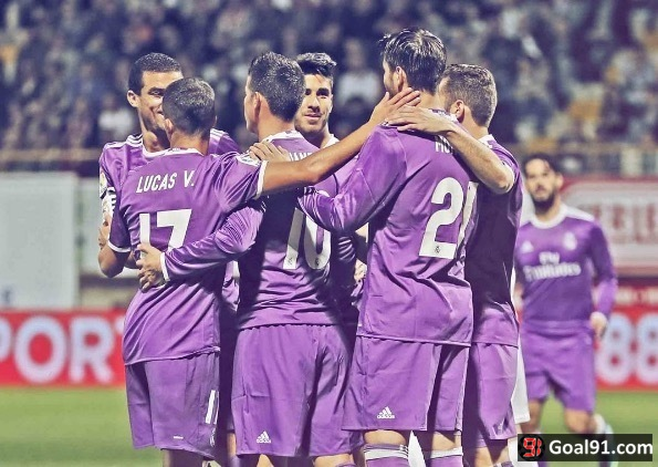 VIDEO: Real Madrid hit 7 at Cultural Leonesa (official video)