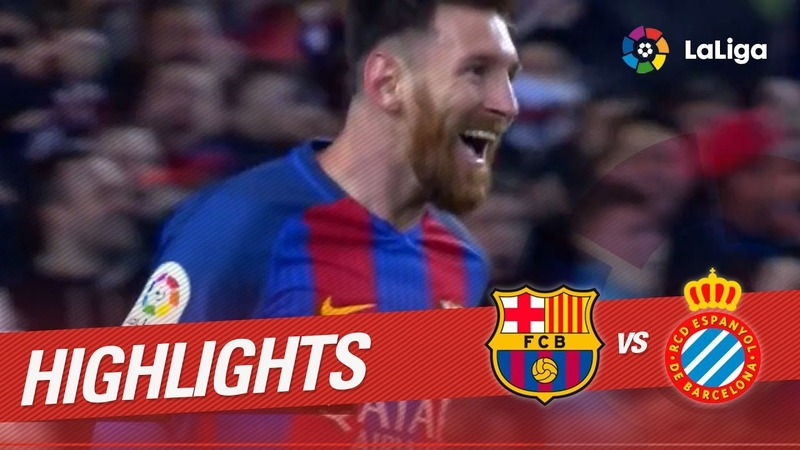 VIDEO: Barcelona 4 - Espanyol 1: Luis Suarez bags a brace (Official highlights)