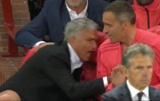 Jose Mourinho's epic reaction to Luke Shaw wondergoal for Manchester United vs Leicester City | Goal91