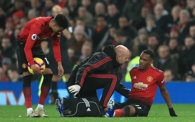 Man United Martial injury update from Mourinho