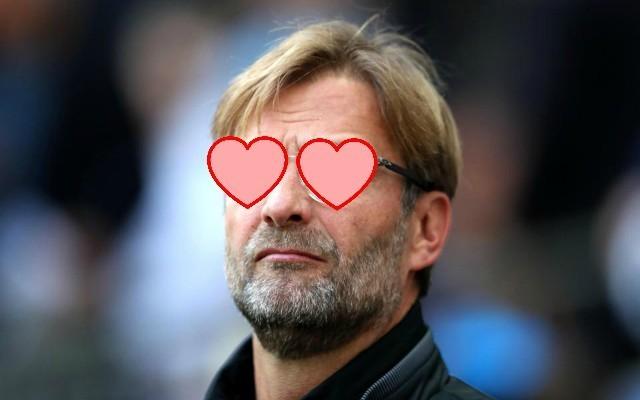 Liverpool boss Jurgen Klopp 'in love' with Champions League winner as Reds make transfer offer