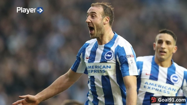 VIDEO: Glenn Murray bags a hat-trick as Brighton crush Norwich 5-0 (video)