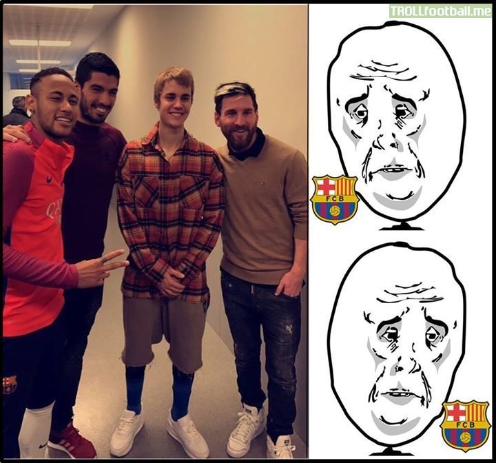 A Moment Of Silence For FC Barcelona Fans.