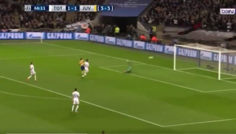 Video: Paulo Dybala scores Juventus winner vs Tottenham in front of watching Manchester United scouts