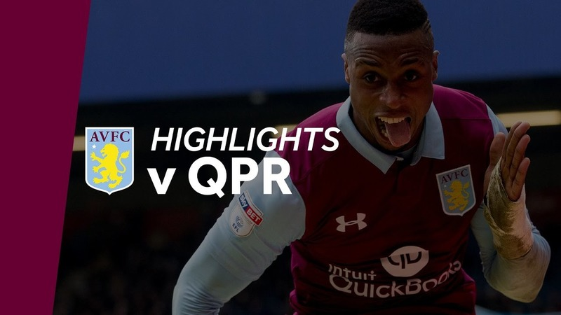 VIDEO: Jonathan Kodjia guides Aston Villa to 1-0 win at QPR (video)