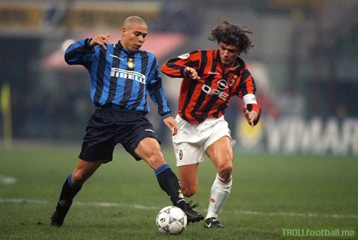 Back when the Milan Derby was the best match of the season.