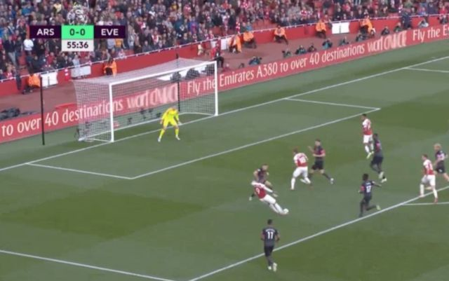 Video: Lacazette and Aubameyang score quick-fire double to give Arsenal 2-0 lead vs Everton