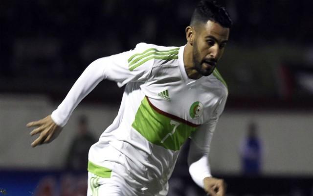 Video: Man City winger Mahrez scores outrageous long-range volley for Algeria