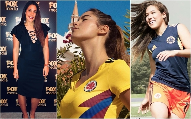 Controversy as stunning Paulina Vega Dieppa used to model Colombia women's jersey, star Vanessa Cordoba not impressed