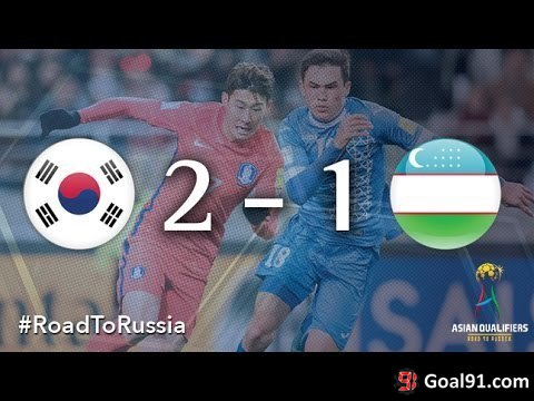 VIDEO: South Korea 2 - Uzbekistan 1: Ja-Cheol Koo bags the winner (Video)