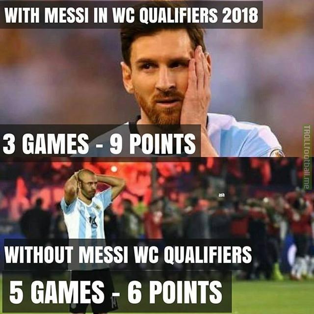 bae2b69ea07c1bf40bc18655d0ccdad5 messi is argentina soccer memes goal91