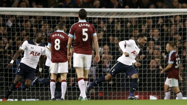 Premier League: Rose stunner gives Spurs all three points against Burley