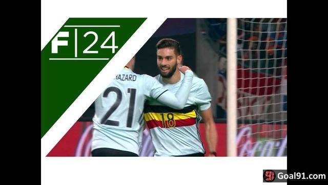 VIDEO: Holland 1 - Belgium 1: Carrasco spares Lukaku's blushes (official video)