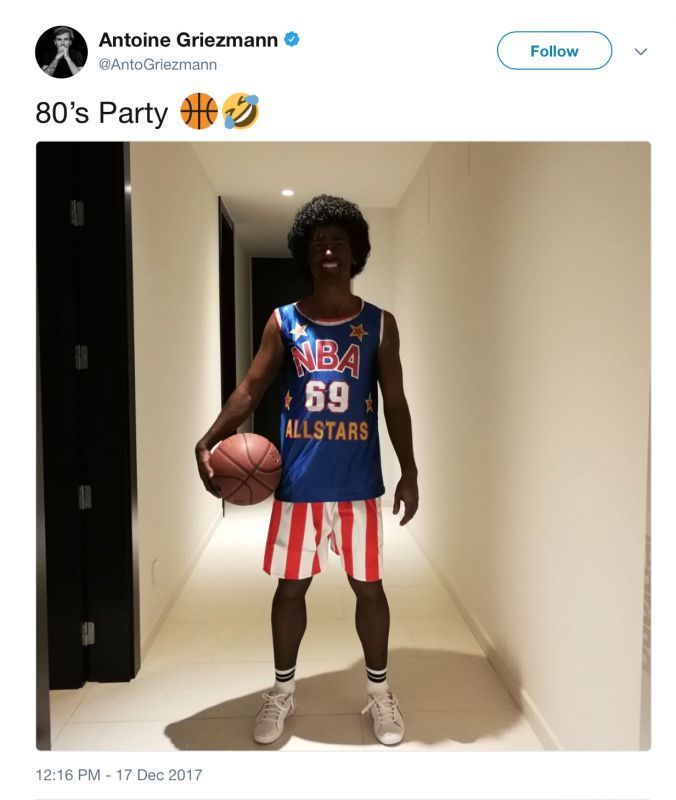 Griezmann 'racist' post