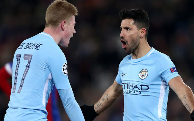 Basel 0-4 Man City player ratings, stats and reaction: Aguero continues terrific form as Guardiola's side take huge step towards quarter finals