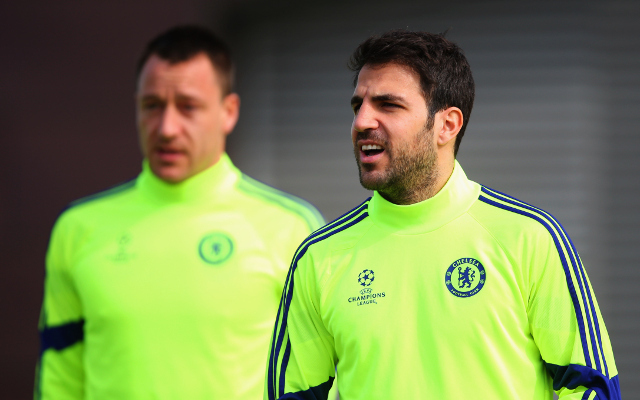 (Image) John Terry trolls Cesc Fabregas, cheeky plug for side venture