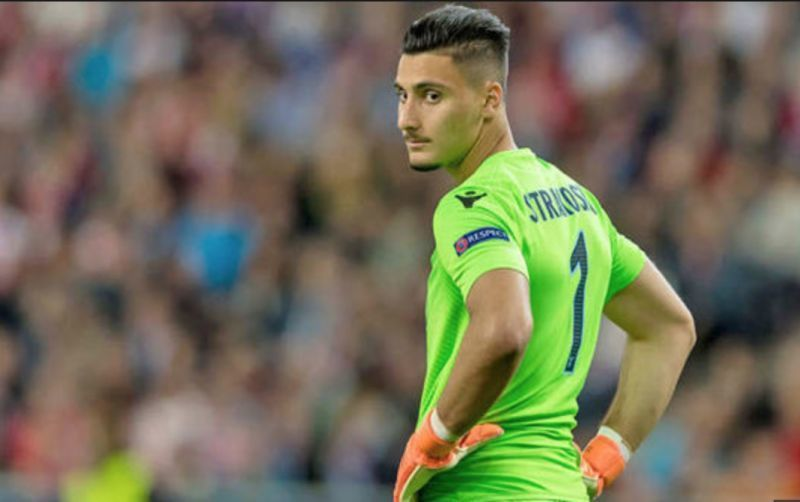 Lazio goalkeeper Strakosha has been linked with a move to Liverpool